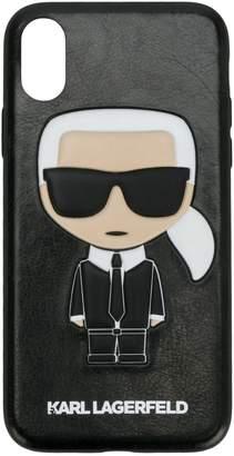 Karl Lagerfeld (カール ラガーフェルド) - Karl Lagerfeld Karl Ikonik iPhone X ケース