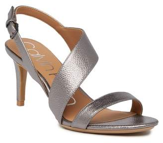 Calvin Klein Lancy Metallic High Heel