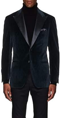 Sartorio Men's PG Paisley Velvet Two-Button Sportcoat