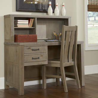 Greyleigh Timberville Writing Desk with Hutch and Chair Set