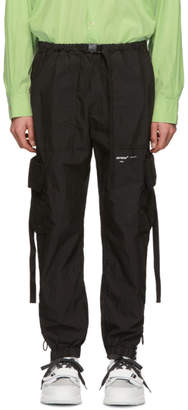 Off-White Off White Black Parachute Cargo Pants
