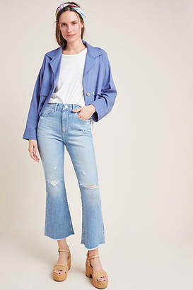 DL1961 Wallace High-Rise Cropped Flare Jeans