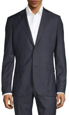 J. Lindeberg Striped Wool Blazer