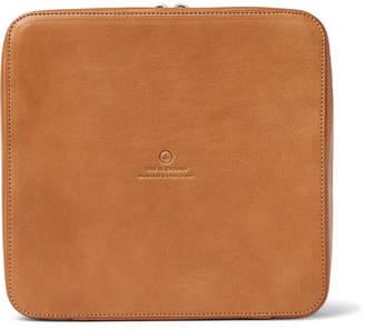 Dopp This Is Ground Grande Tech Kit Leather Travel Organiser