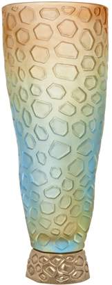 Daum Large Coral Vase