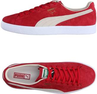 01fbfe864af224 Puma Red Soft Leather Men s Shoes
