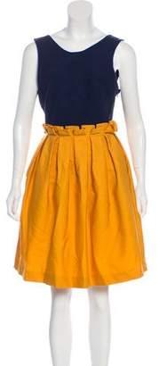 Mother of Pearl Sleeveless Mini Dress