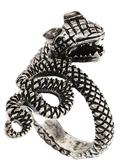 Asos Vintage Style Snake Ring - Burnished silver