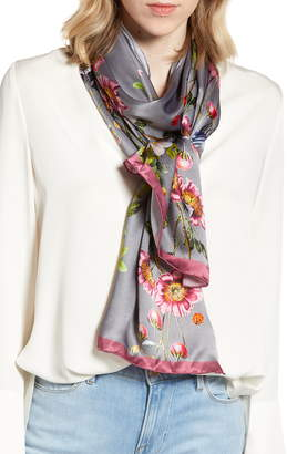 Ted Baker Oracle Floral Silk Scarf