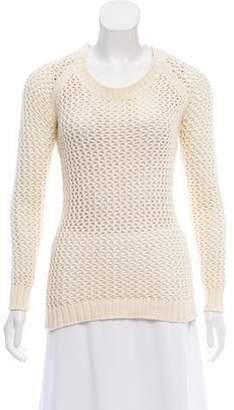 Torn By Ronny Kobo Long Sleeve Knit Sweater