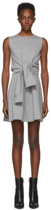 DSQUARED2 Grey Compact Jersey Dress