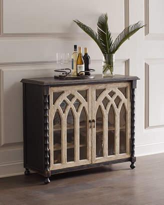 Hooker Furniture Bella Cathedral Style Bar Cabinet