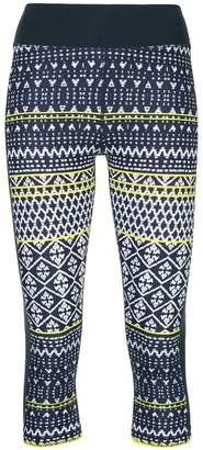 The Upside print cropped leggings