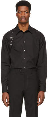 Alexander McQueen Black Harness Shirt