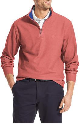 Izod Saltwater Long Sleeve Quarter-Zip Pullover