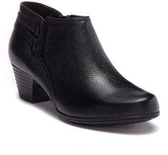 Clarks Valarie 2 Ashly Leather Ankle Boot - Wide Width Available