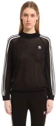 Adidas Originals Thin Knit Viscose Cotton Sweater