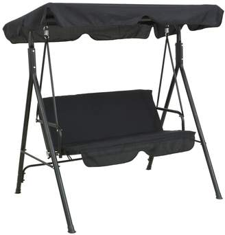 Argos Home 2 Seater Metal Garden Swing Chair