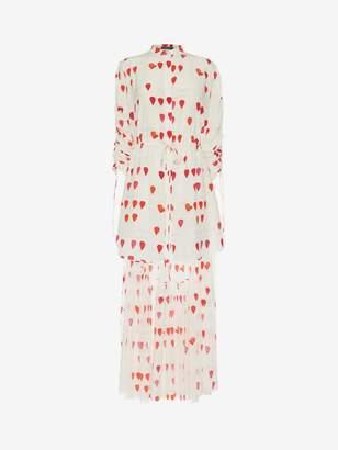 Alexander McQueen Petal Print Frock Shirt