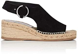 Rag & Bone WOMEN'S CALLA SUEDE WEDGE ESPADRILLE SANDALS