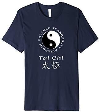 Yin & Yang Tai Chi Chuan Chinese Martial Arts Yin Yang T-Shirt PREMIUM