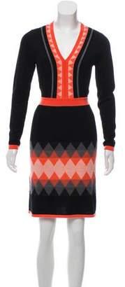 Milly Wool Sweater Dress