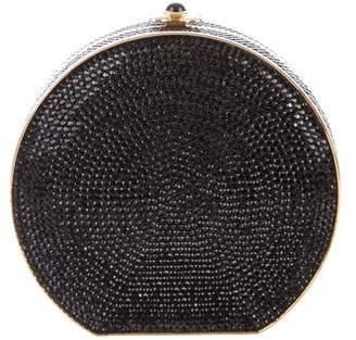 Judith Leiber Crystal Embellished Circle Clutch