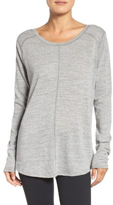 Women's Zella Twist & Breathe Reversible Tee $55 thestylecure.com
