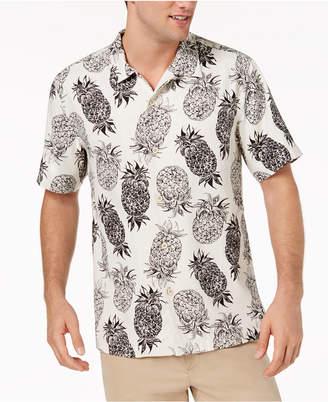 Tommy Bahama Men's Pina Pinata Pineapple-Print Silk Camp Shirt