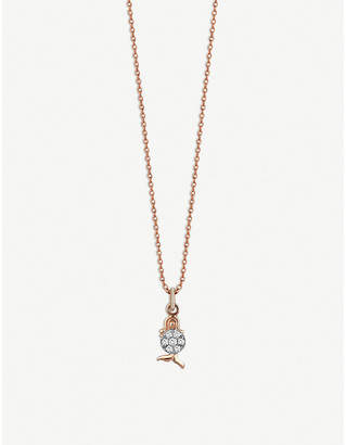 Rosegold The Alkemistry Kismet By Milka Virgo 14ct rose-gold and diamond necklace