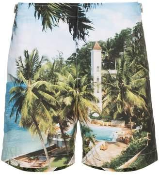 Orlebar Brown Bulldog resort print swim shorts