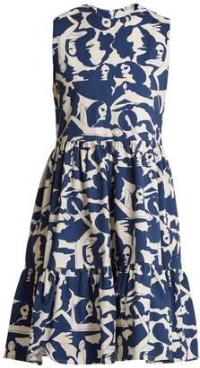 LA DOUBLEJ EDITIONS Brunch Donne-print cotton dress