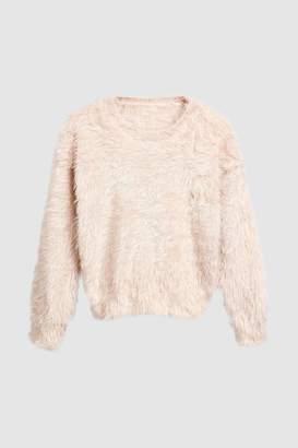 Next Girls Fluffy Sweater (3-16yrs)