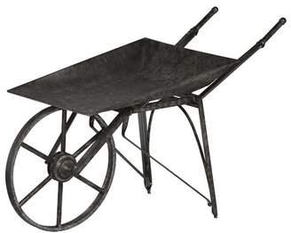 A&B Home Vintage Wheelbarrow Planter