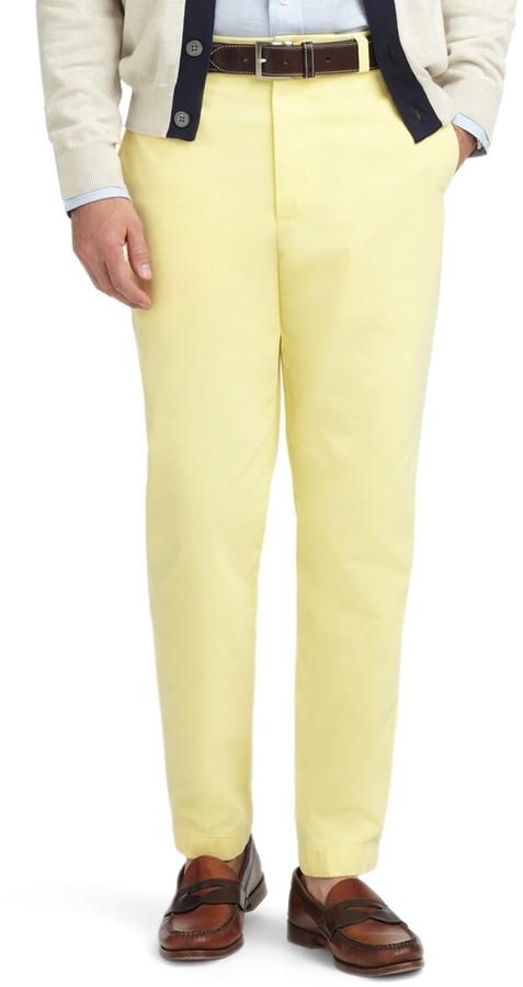 Hudson Garment-Dyed Twill Chinos