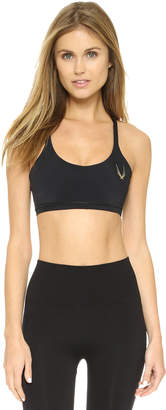 Lucas Hugh Core Performance Cross Back Sports Bra $145 thestylecure.com