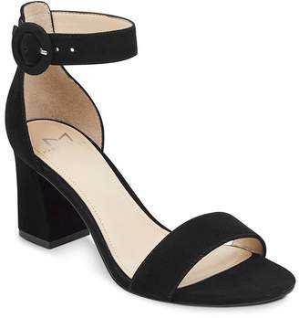 7ffbb2d03eb Marc Fisher Women s Karlee Suede Block Heel Sandals