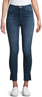 Mother Stretch Ankle Jeans