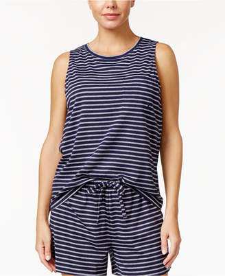 Nautica Striped Pajama Tank Top