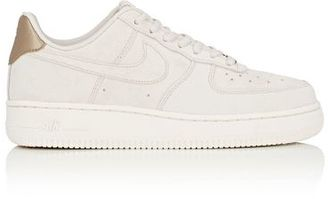 Nike Women's Air Force 1 '07 Premium Sneakers-TAN $120 thestylecure.com