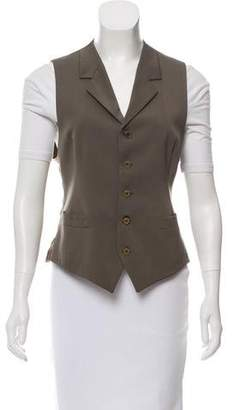 Hermes Notch-Lapel Tailored Vest