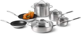 Calphalon Simply Stainless Steel 10-Piece Cookware Set, 1757697