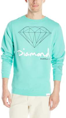 Diamond Supply Co. Men's Og Script Brilliant Crewneck