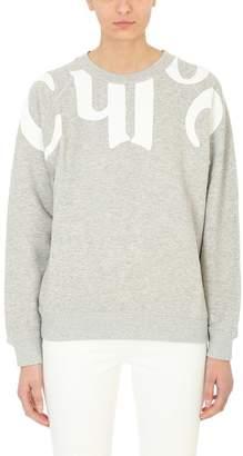 Chloé Logo Print Sweatshirt
