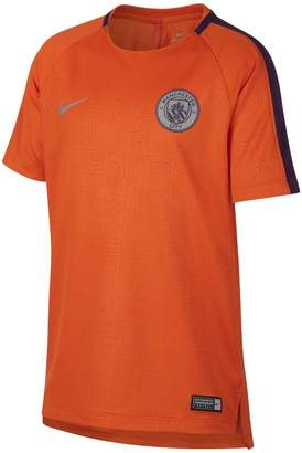 Nike Manchester City FC Dri-FIT Squad Older Kids' Football Top