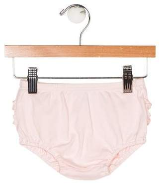 Ralph Lauren Girls' Ruffle-Accented Bloomers
