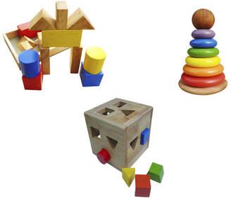 3 PIece Stacking, Sorting & Building Set