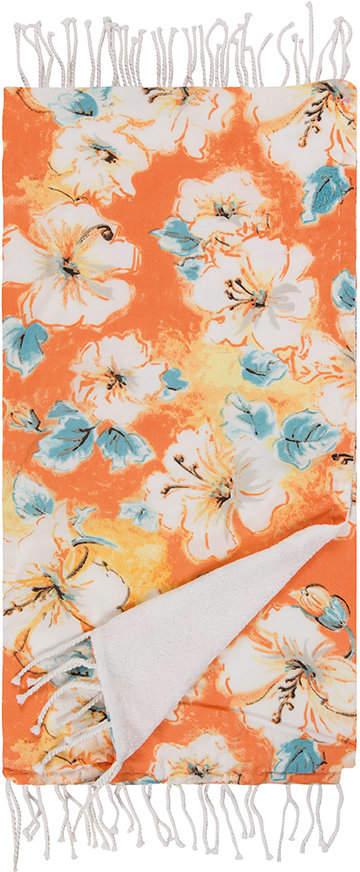 Marinette Saint Tropez - Hibiscus Beach Towel - Orange