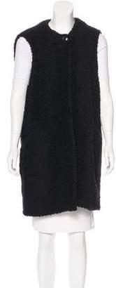 Isabel Marant Wool-Blend Longline Vest