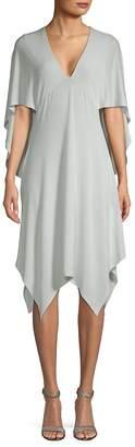 BCBGMAXAZRIA Women's Asymmetrical Cocktail Dress
